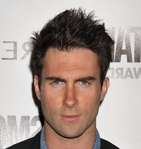 The Adam Levine Short Messy Hairstyles