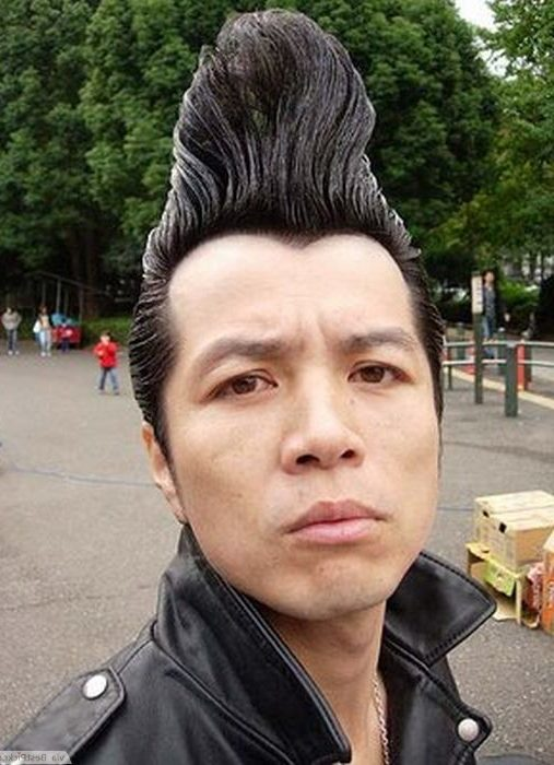 The Punk Pompadour