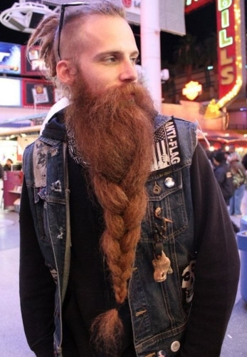 The Viking Braided Beard