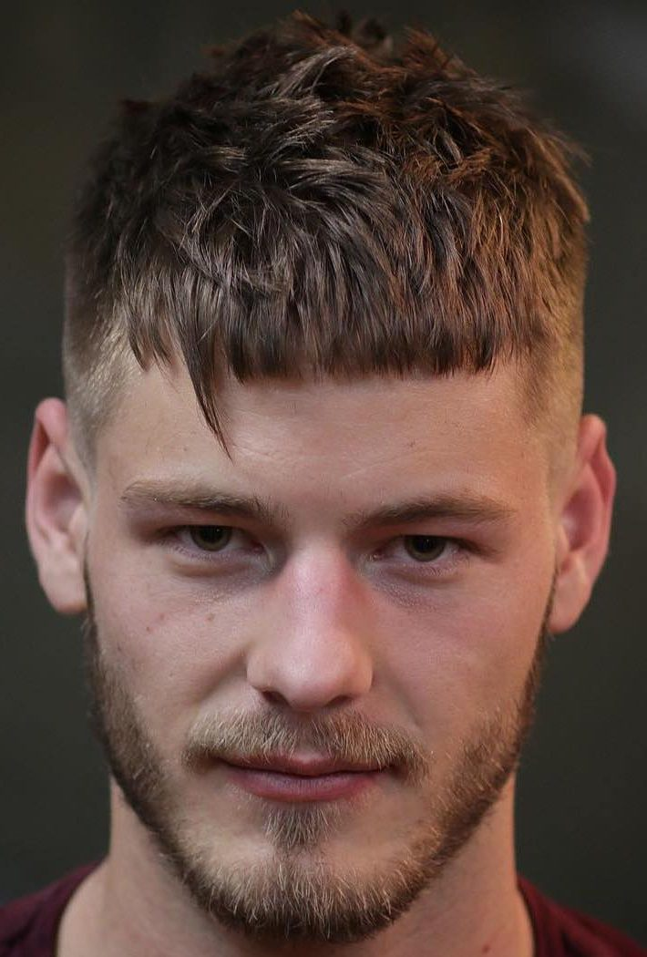 Thorny Pocky mens fringe hairstyles