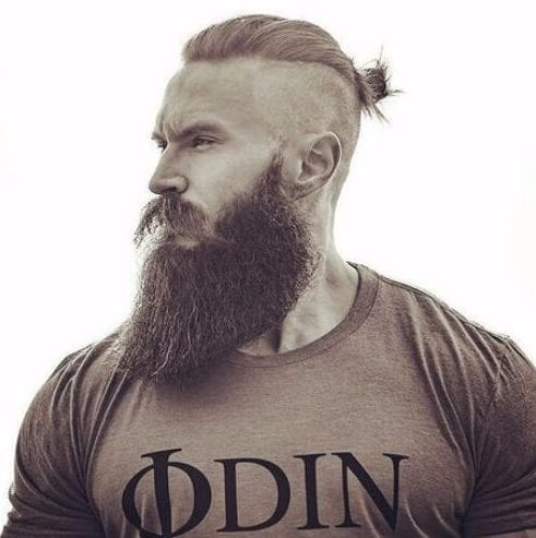 Traditional Scandinavian Hairstyles with Beard