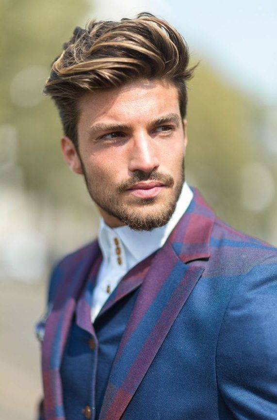 Trendy Hairstyles for Men with Dark Blonde Hair Color