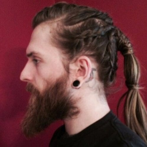 Viking Hair Braids