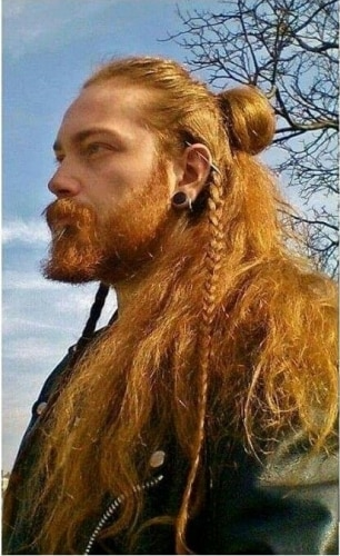 Viking Hairstyles for Thick Haired Redheads