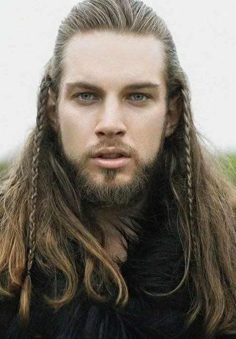 Viking Half-Up With Braids
