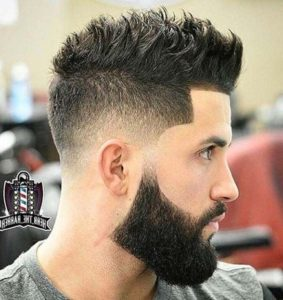 hairstyles for big men