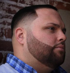 fat mans haircut