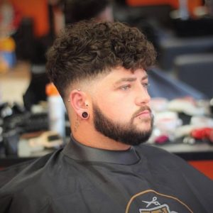 hairstyles for fat men
