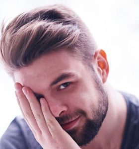 long top short sides mens haircut