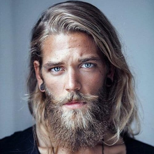 Blonde Viking Beard Styles
