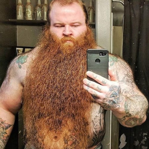 Savage Viking Beard Styles