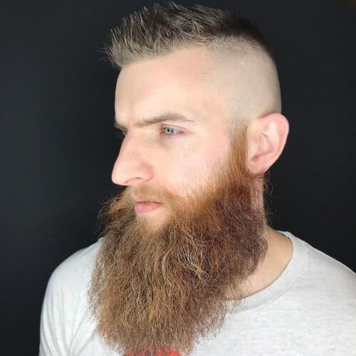 Unruly Viking Beard Styles