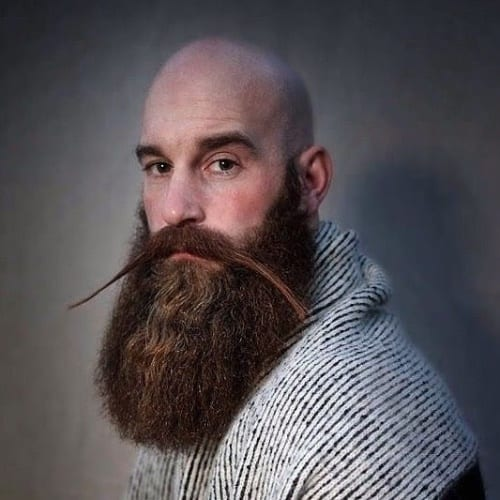 Viking Beard Styles with Longer Mustaches