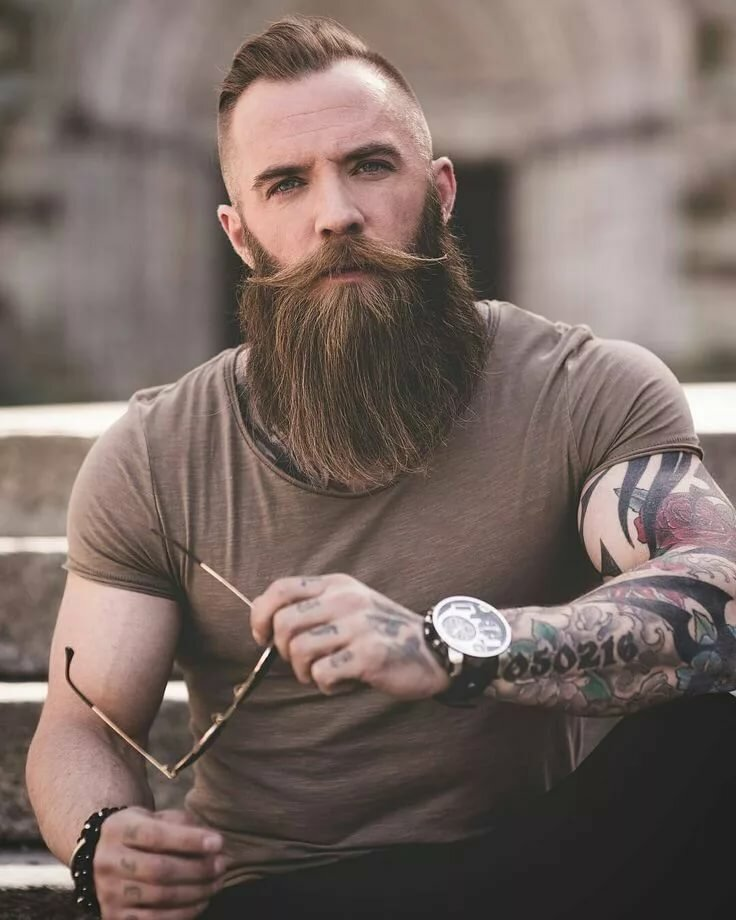 Different Styles Of Viking Beard