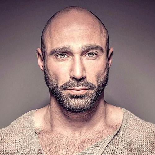 Short Beard for Bald Guys