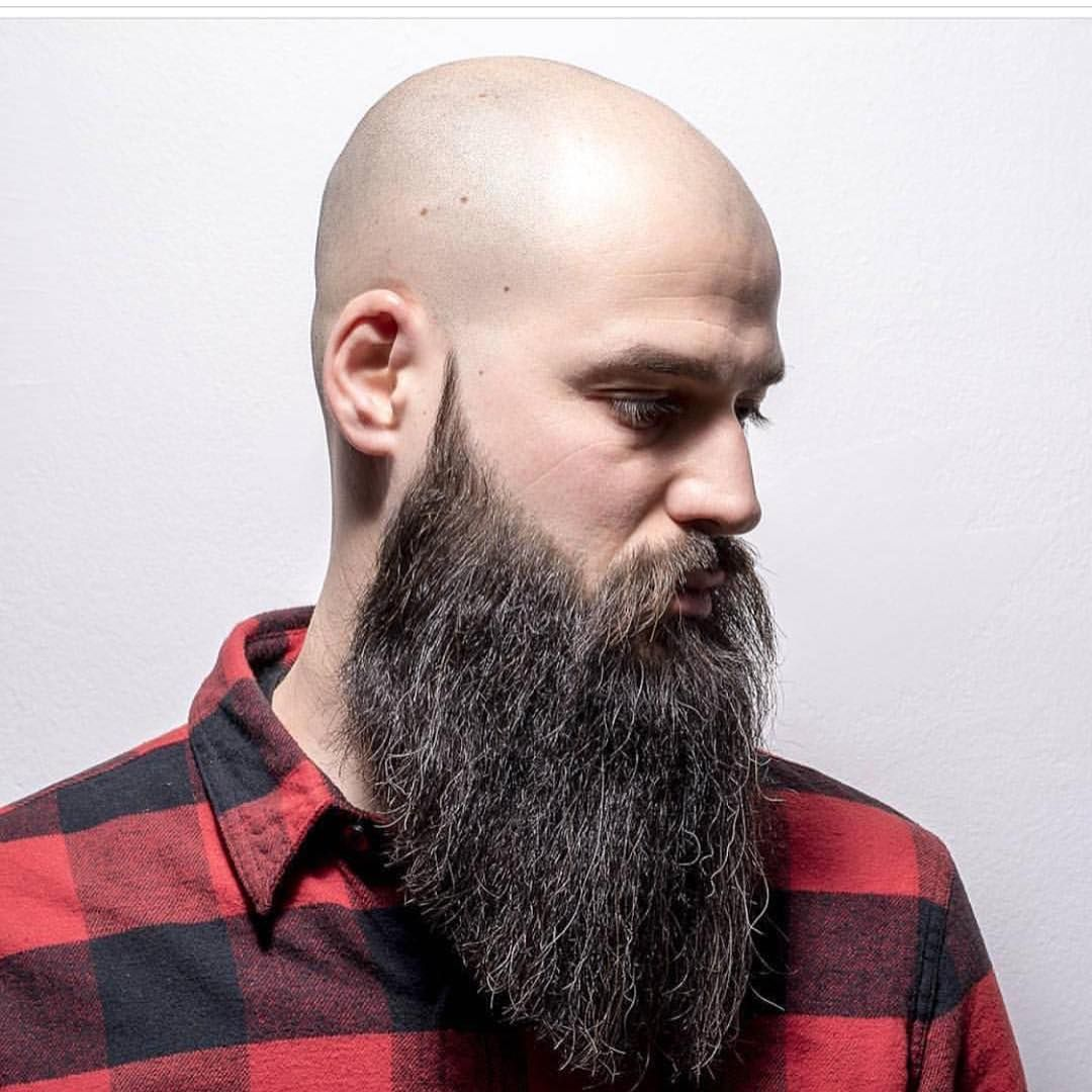 The Yeard Beard With Shaved Head