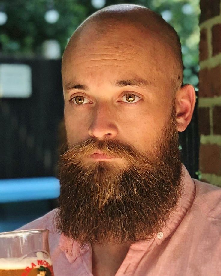 Undecided Bald With Beard