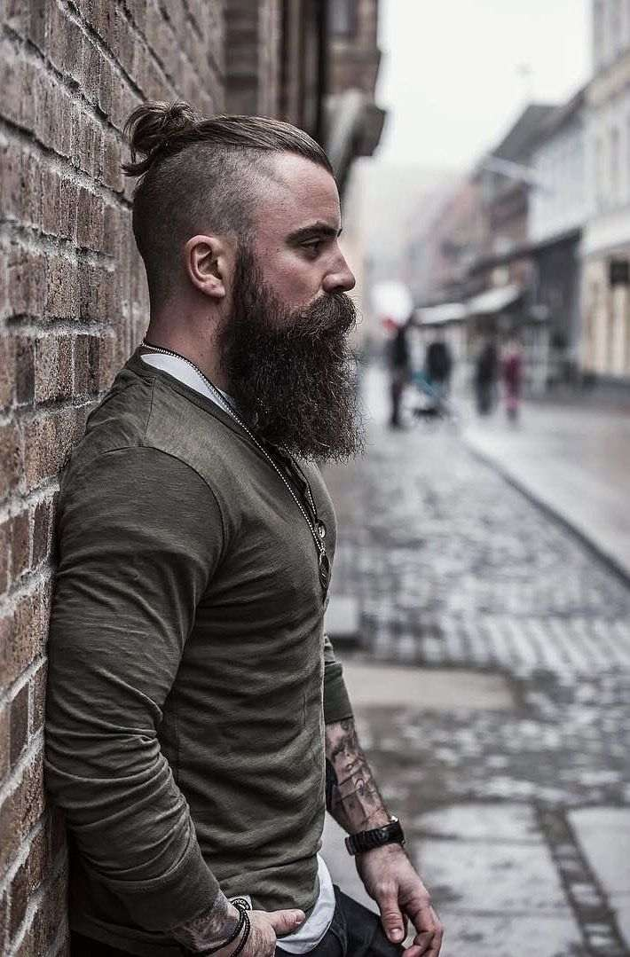 Viking Beard Without Moustache