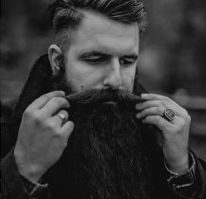 Viking Moustache Beard