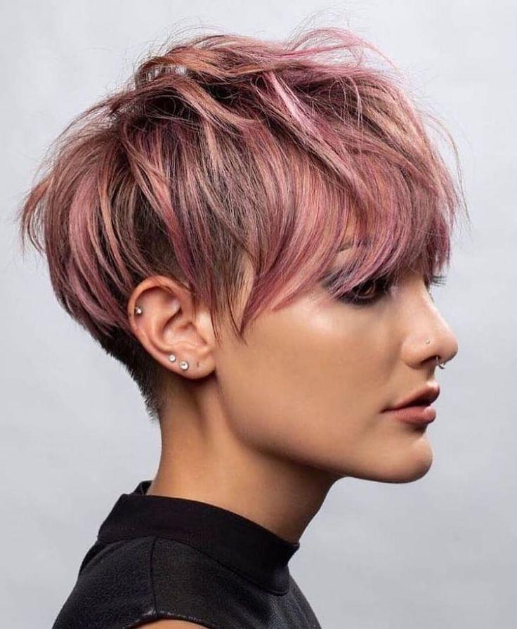 Longer Pixie Cut