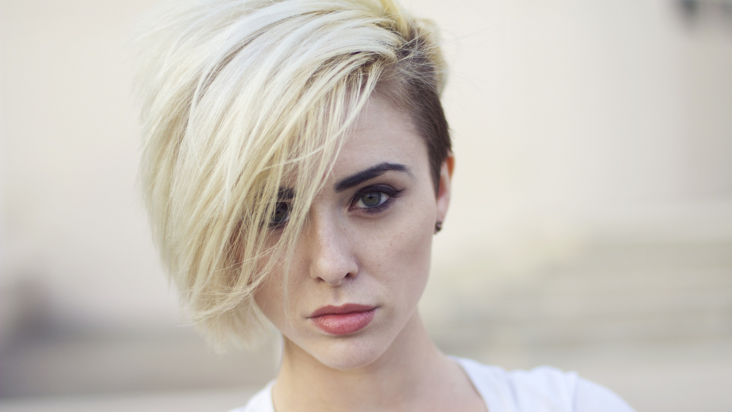 Undercut With Side Swept Bangs