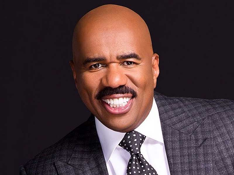 steve harvey hair