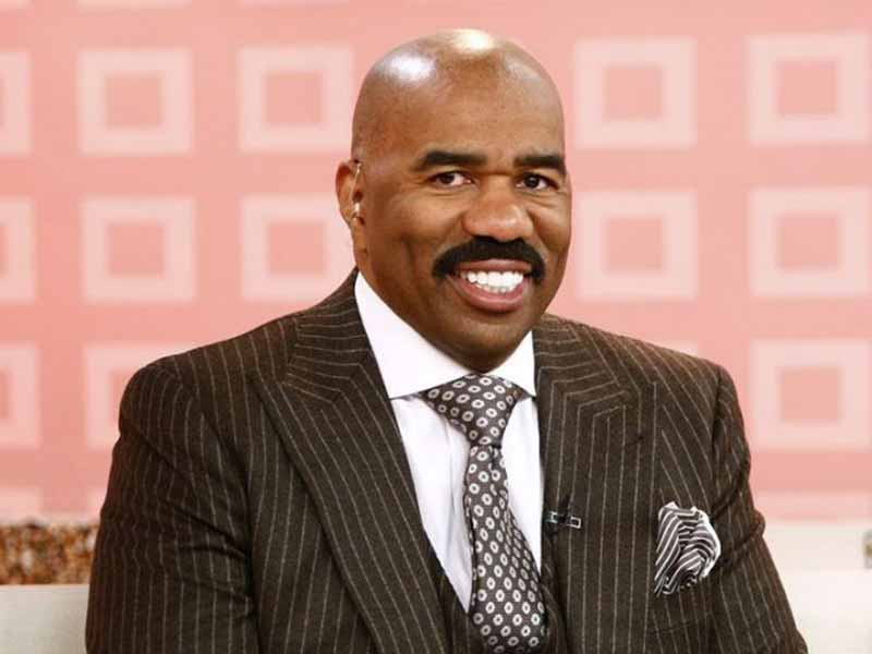 steve harvey shaved