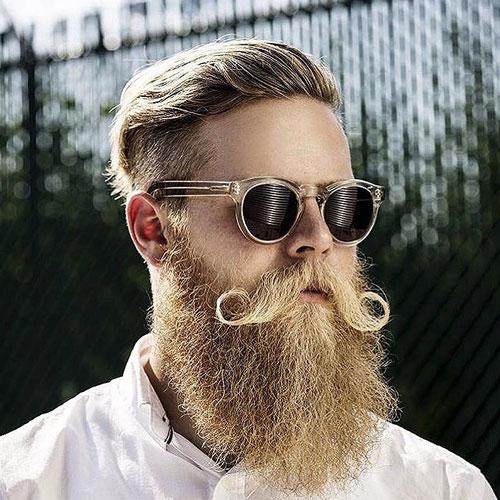 blonde goatee