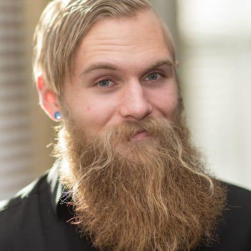 beard dye blonde