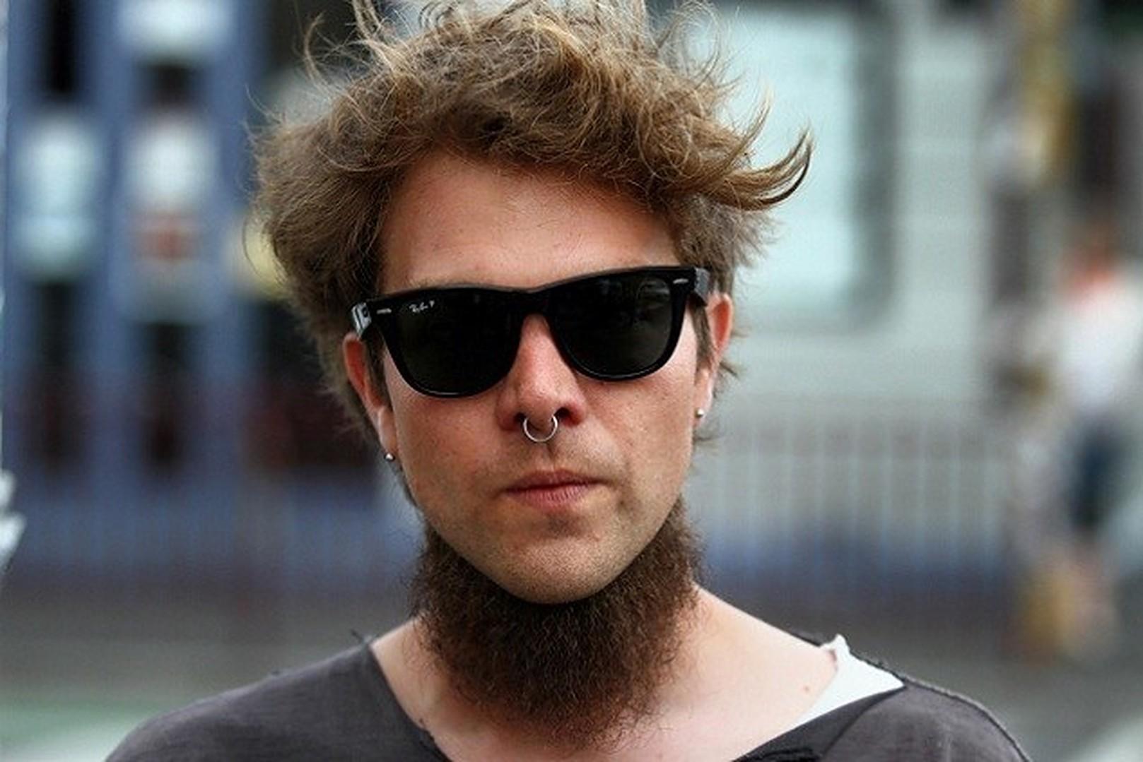 Neckbeard styles for men