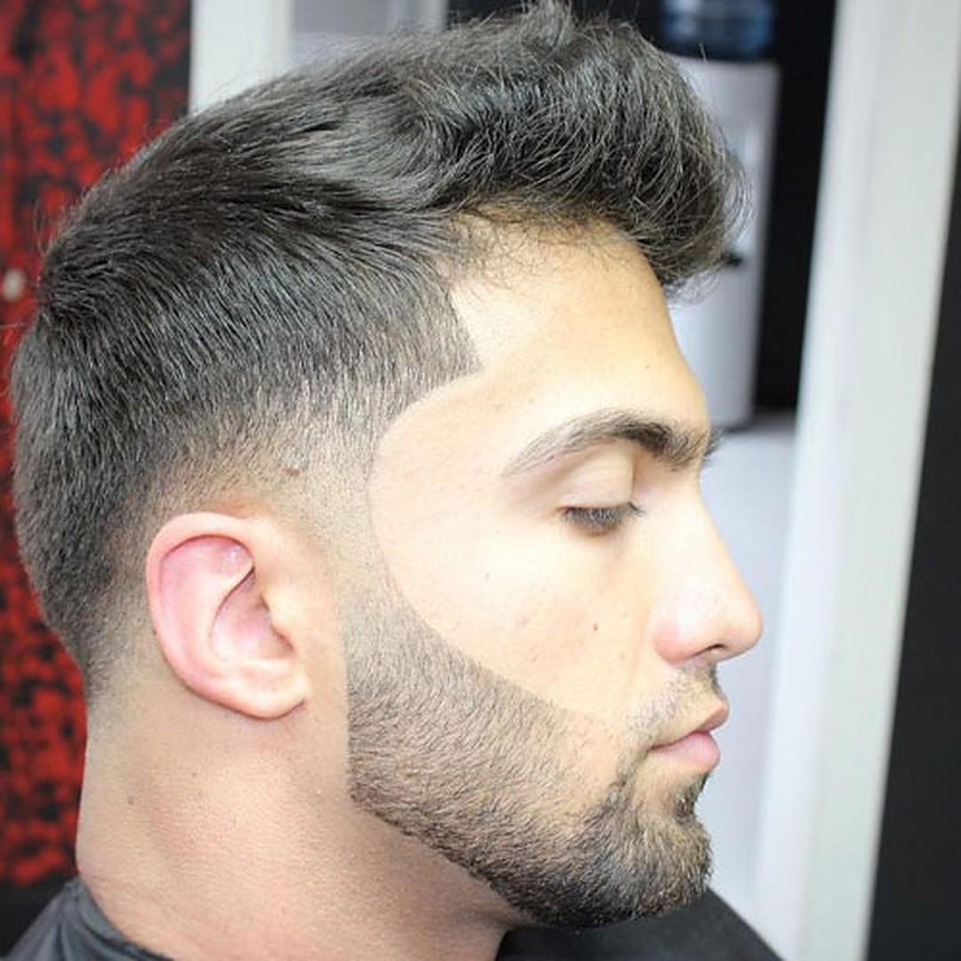 Short Beard with Short Moustache for mens