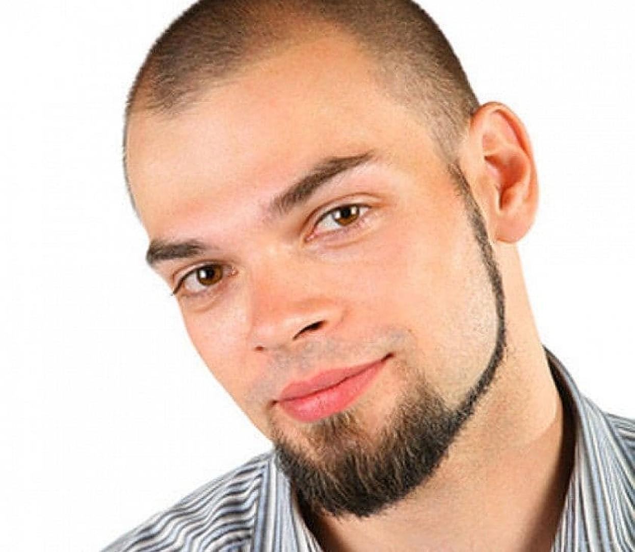 Style mix beard without mustache