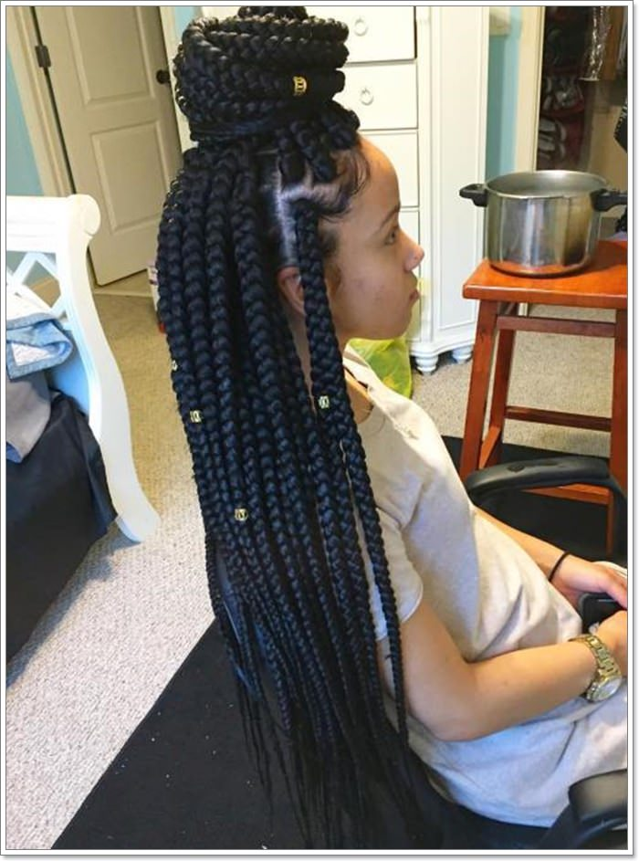 black girl braid styles