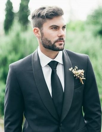 mens wedding hairstyle