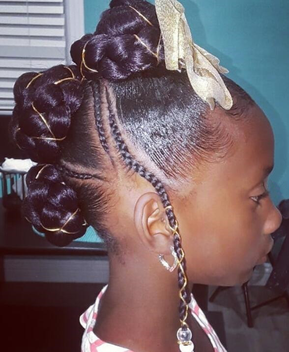 box braids for little girl