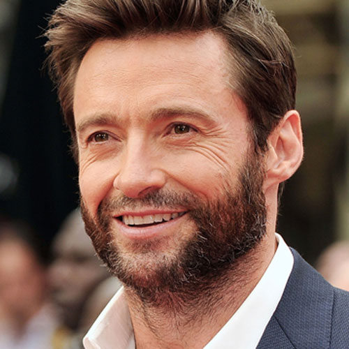 Hugh Jackmans Wolverine Beard
