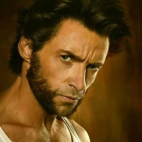 Wolverine Beard X Men