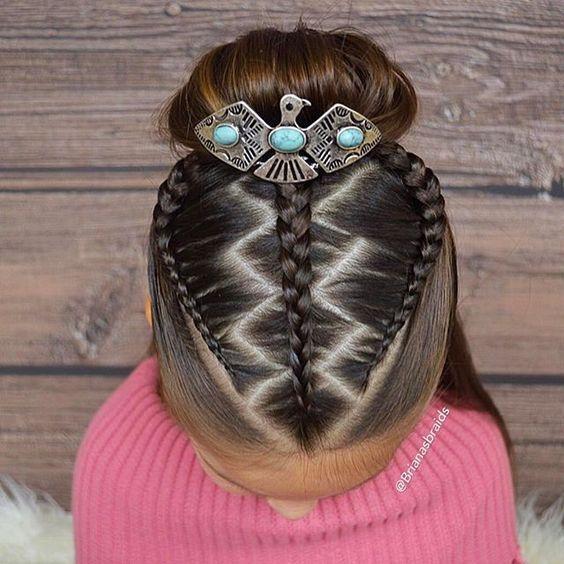little girl twists
