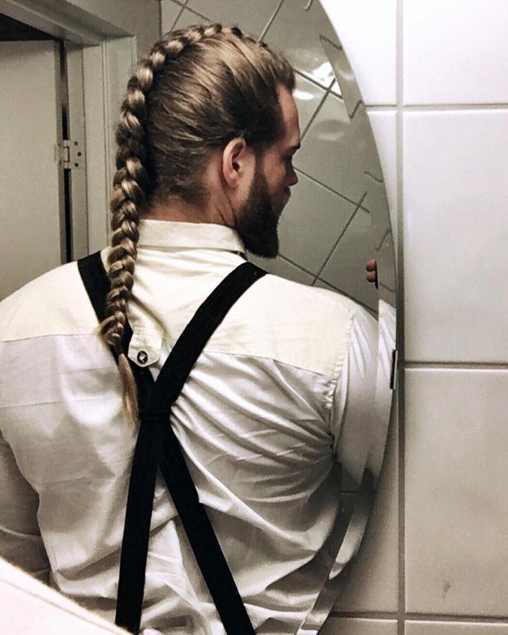 Mens Wedding Hairstyle Braids