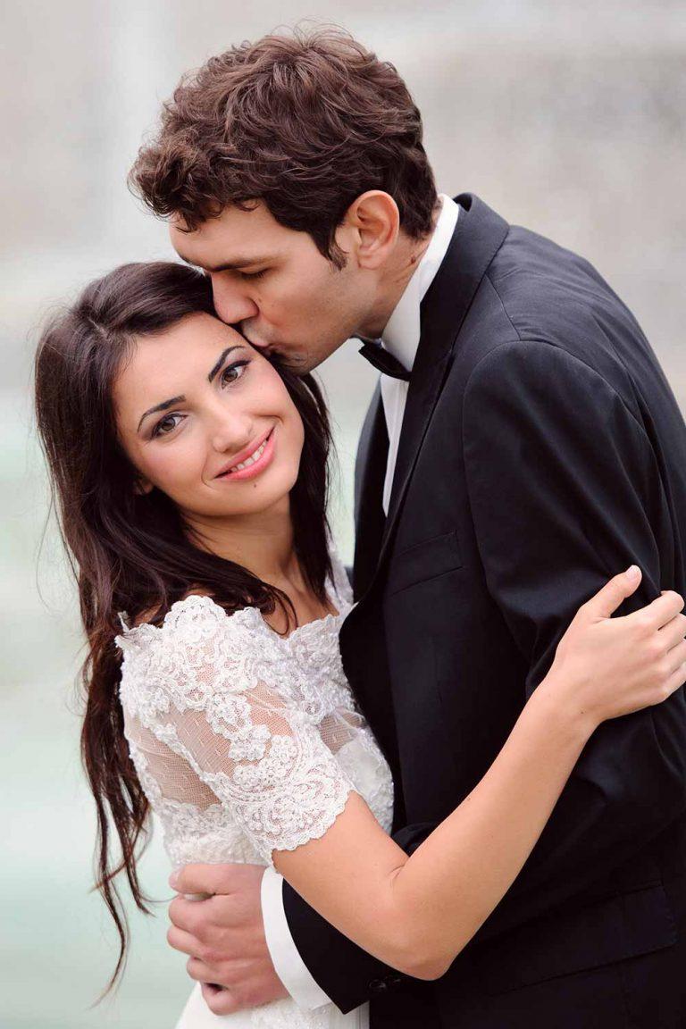 Mens Wedding Hairstyle Curly Locks