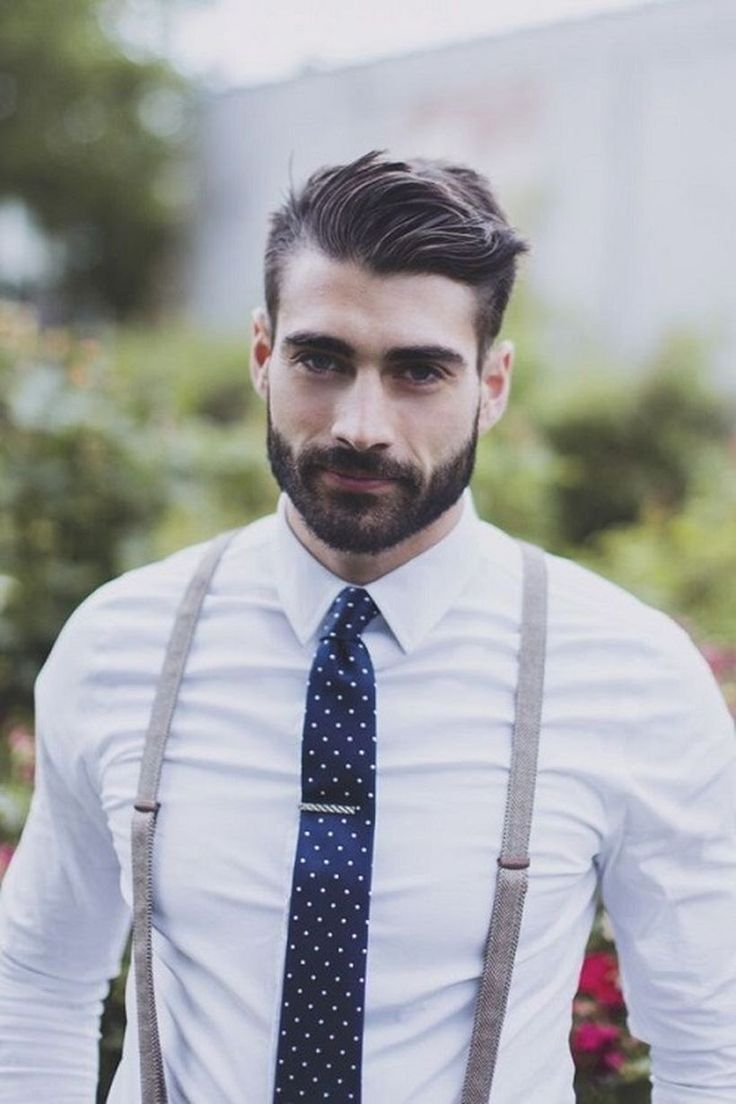 Mens Wedding Hairstyle Cut-In Part