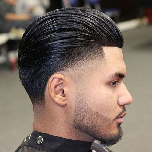 Mens Wedding Hairstyle Ducktail