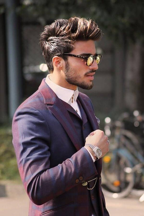 Mens Wedding Hairstyle Edgy Disconnect