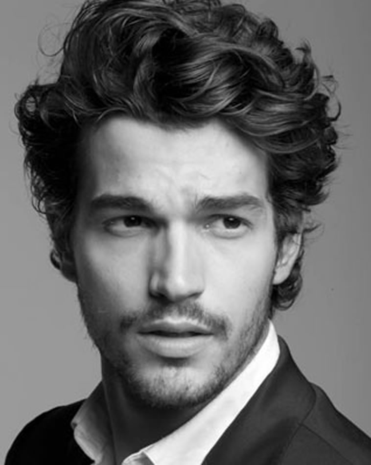 Mens Wedding Hairstyle Famous Waves