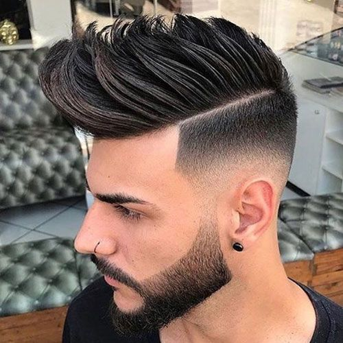 Mens Wedding Hairstyle Mohawk