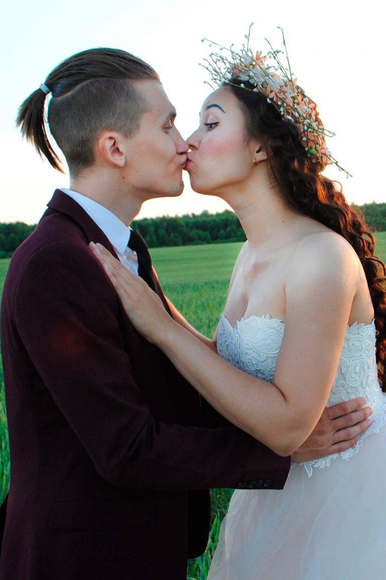 Mens Wedding Hairstyle Ponytail