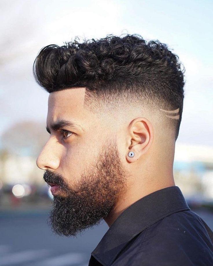 Mens Wedding Hairstyle Retro High-Top Fade