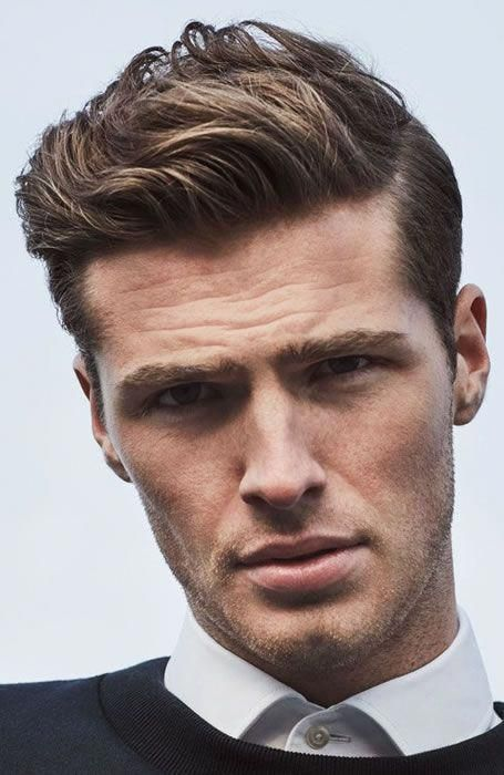 Mens Wedding Hairstyle Shine On