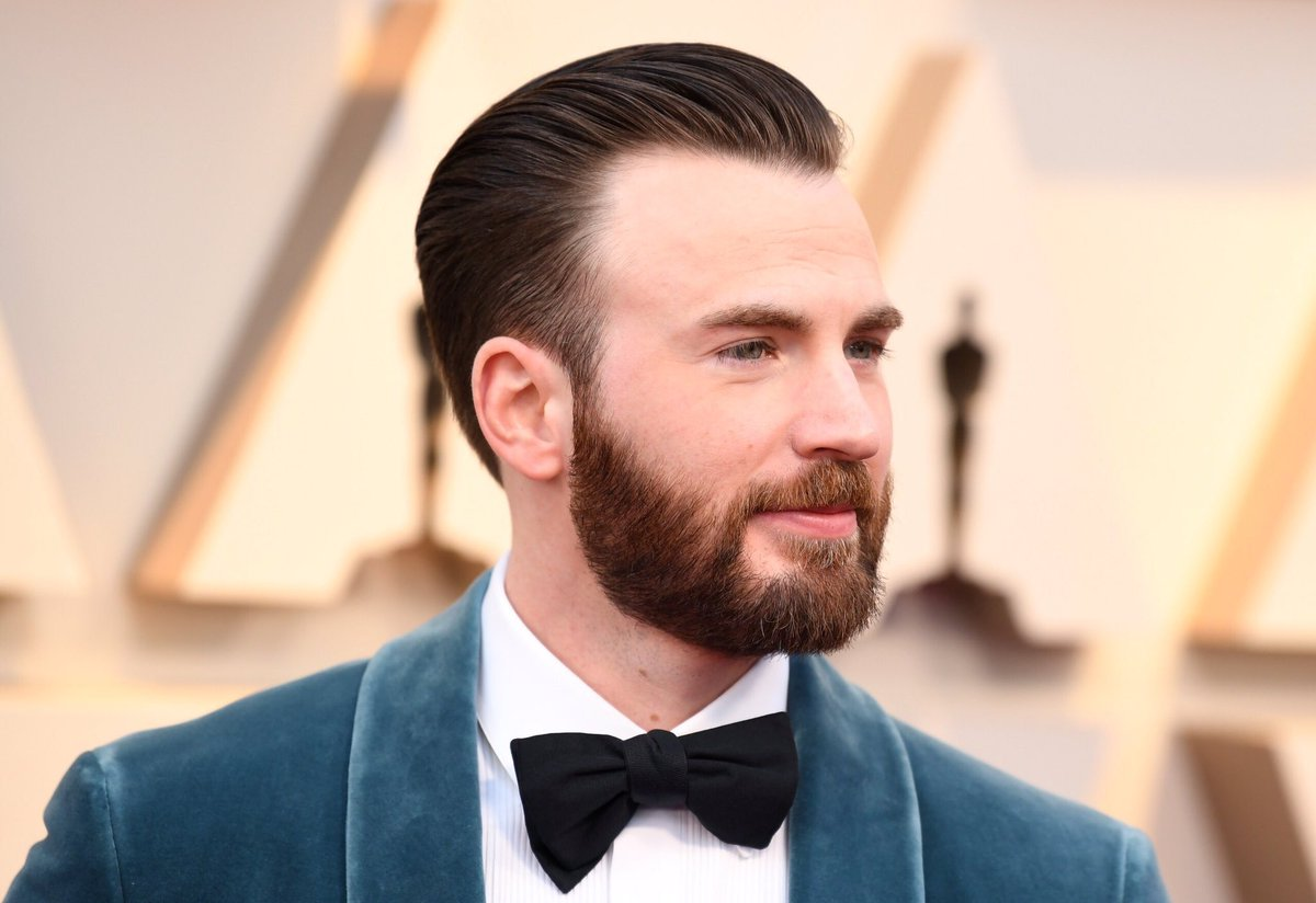 Mens Wedding Hairstyle The Captain America