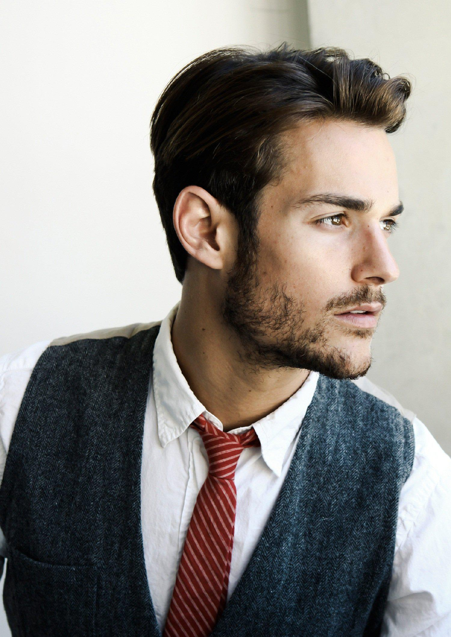 Mens Wedding Hairstyle Versatile Classic